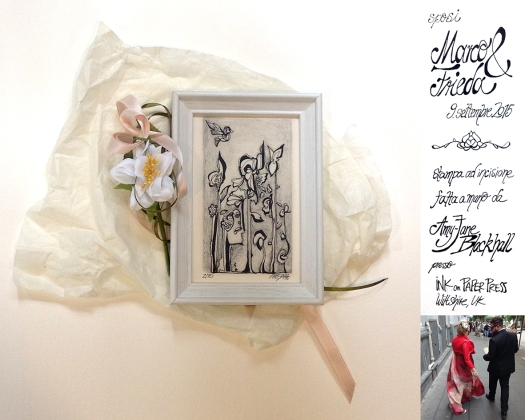 Marco & Frieda wedding print