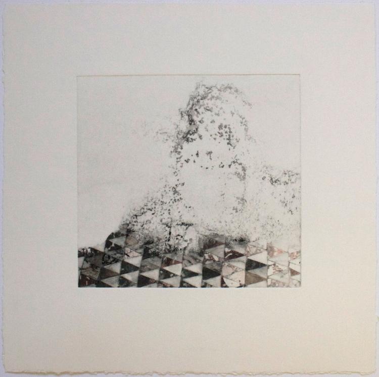Amy-Jane Blackhall 'Flesh & Bone', Intaglio with hand colouring