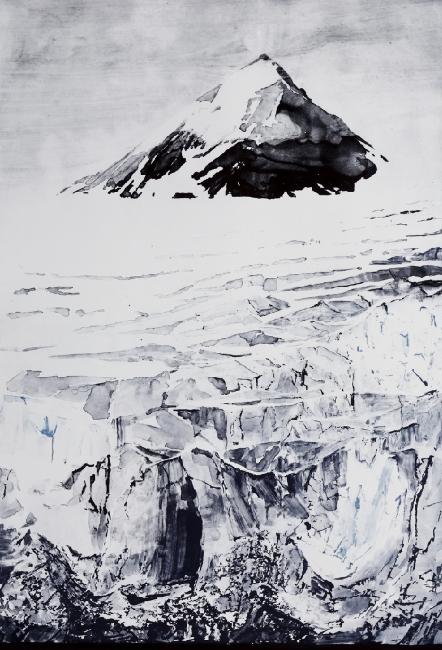 Emma Stibbon RA 'Nunatak' 2015