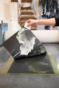 Printing Emma Stibbon RA print 'Plume'